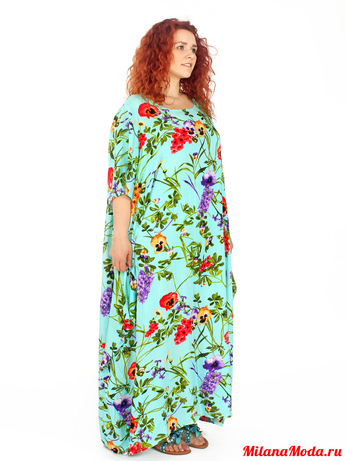 Красивые платья из штапеля