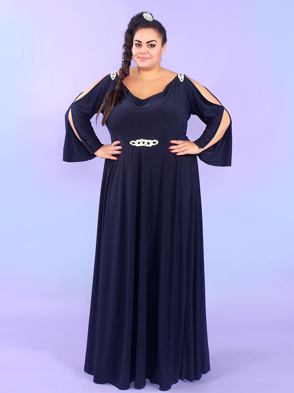 Интернет магазин платьев длинных 52 размер